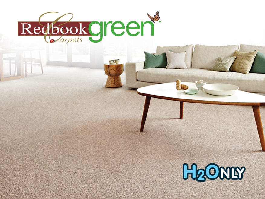 Soft and Stylish Carpet that Cleans with H2Only