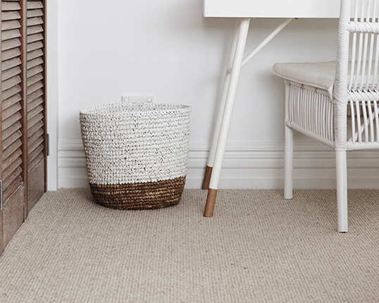 Lana chose the 100% wool carpet Stonefields in Costworld Stone