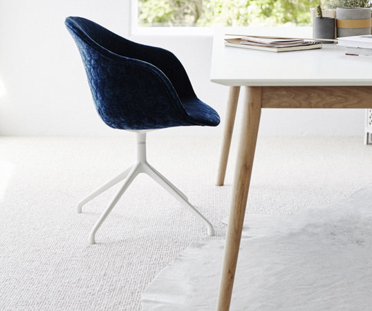 This high quality wool carpet is warm, soft and luxurious with natural durability.